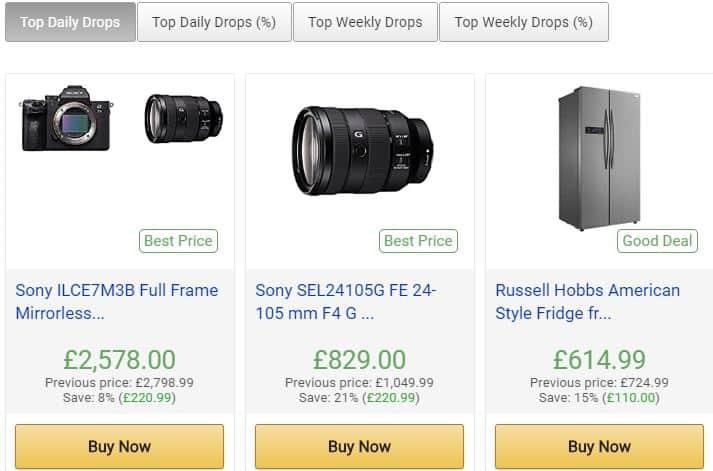 CamelCamelCamel  Amazon Shopping App : Best Shopping apps to save money