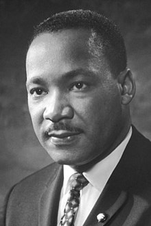 """Martin Luther King Jr. - """"You don't have to see the whole staircase, just take the first step."""""""