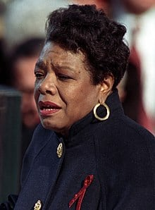 Maya Angelou reciting a poem about money