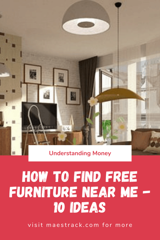 How To Find Free Furniture Near Me - 10 Ideas